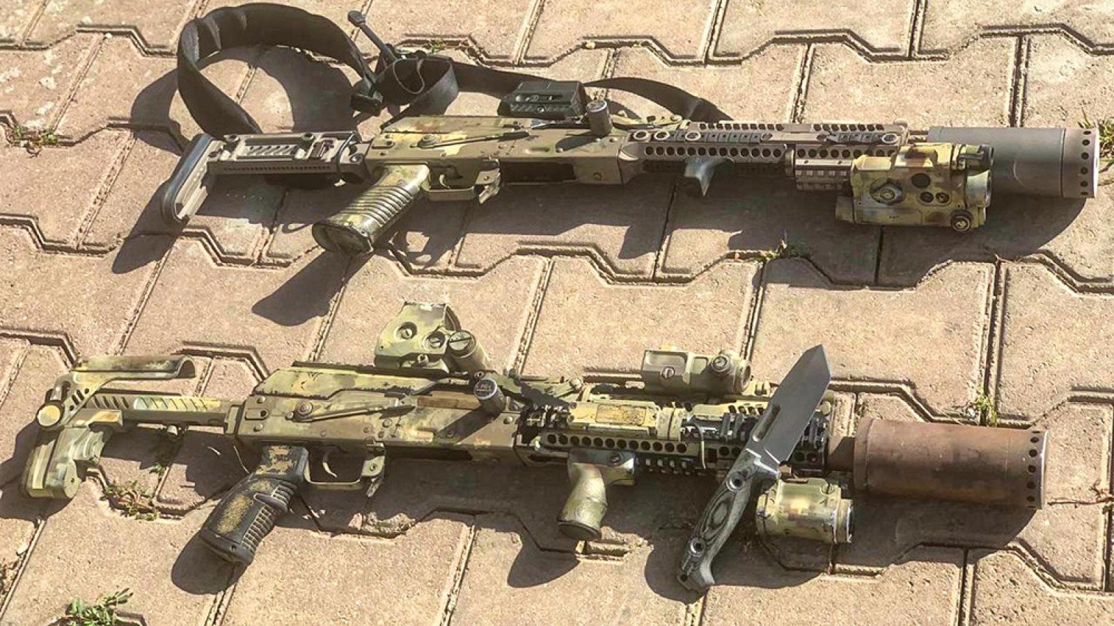 Khám phá tiểu liên AK phiên bản dành cho đặc nhiệm Alfa của Cơ quan An ninh Nga