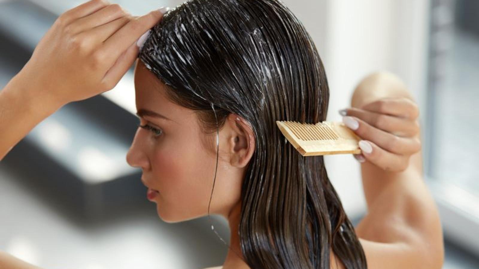 10 công thức tại nhà giúp phục hồi mái tóc khô, hư tổn