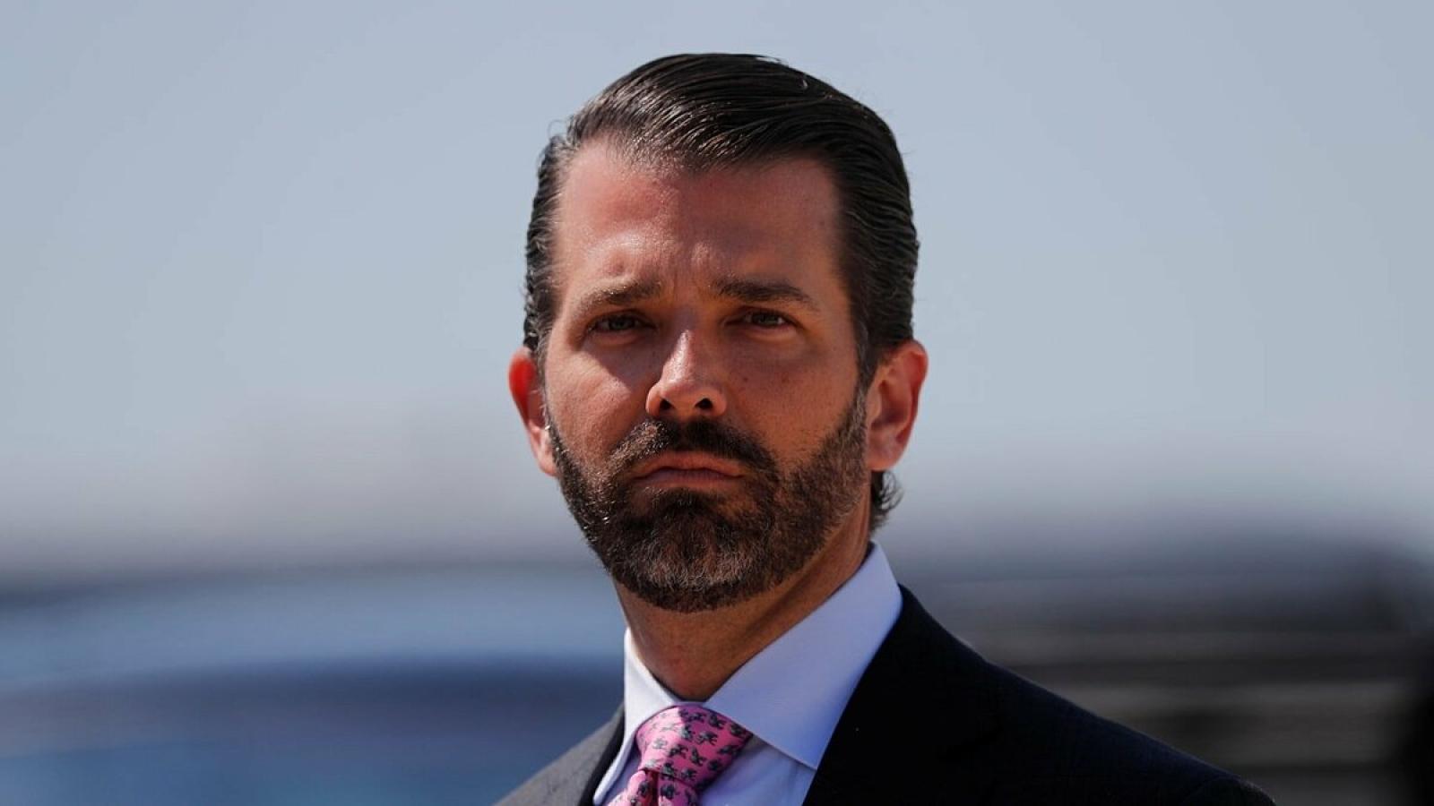 Con trai cả của Tổng thống Trump mắc Covid-19