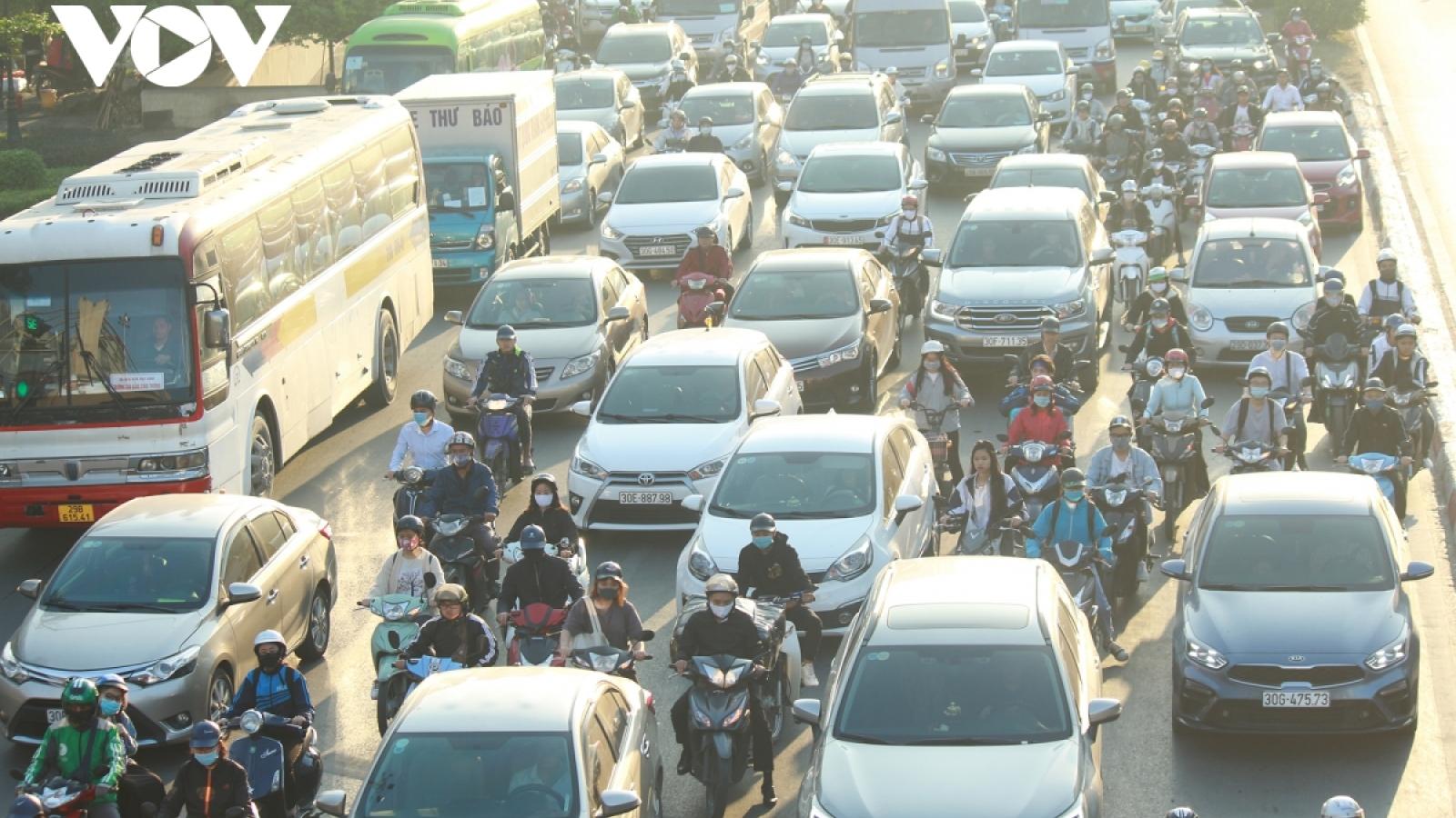 """Để không còn những """"nút cổ chai"""" trong giao thông đô thị"""