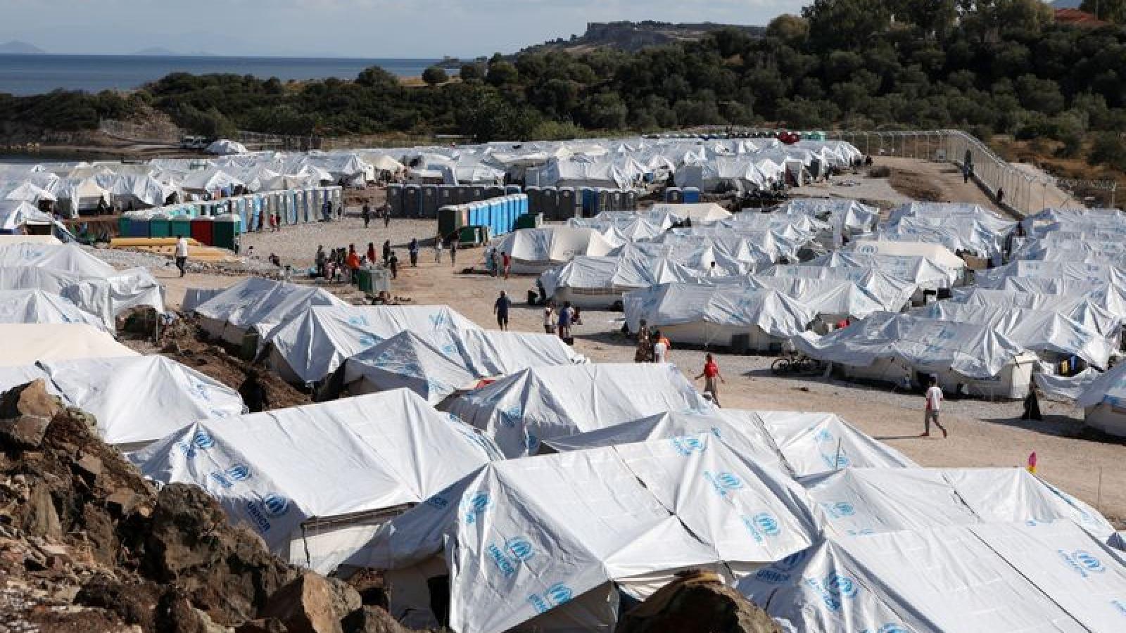 Hy Lạp sẽ xây dựng trại tị nạn mới, cắt giảm số lượng người di cư trên các đảo