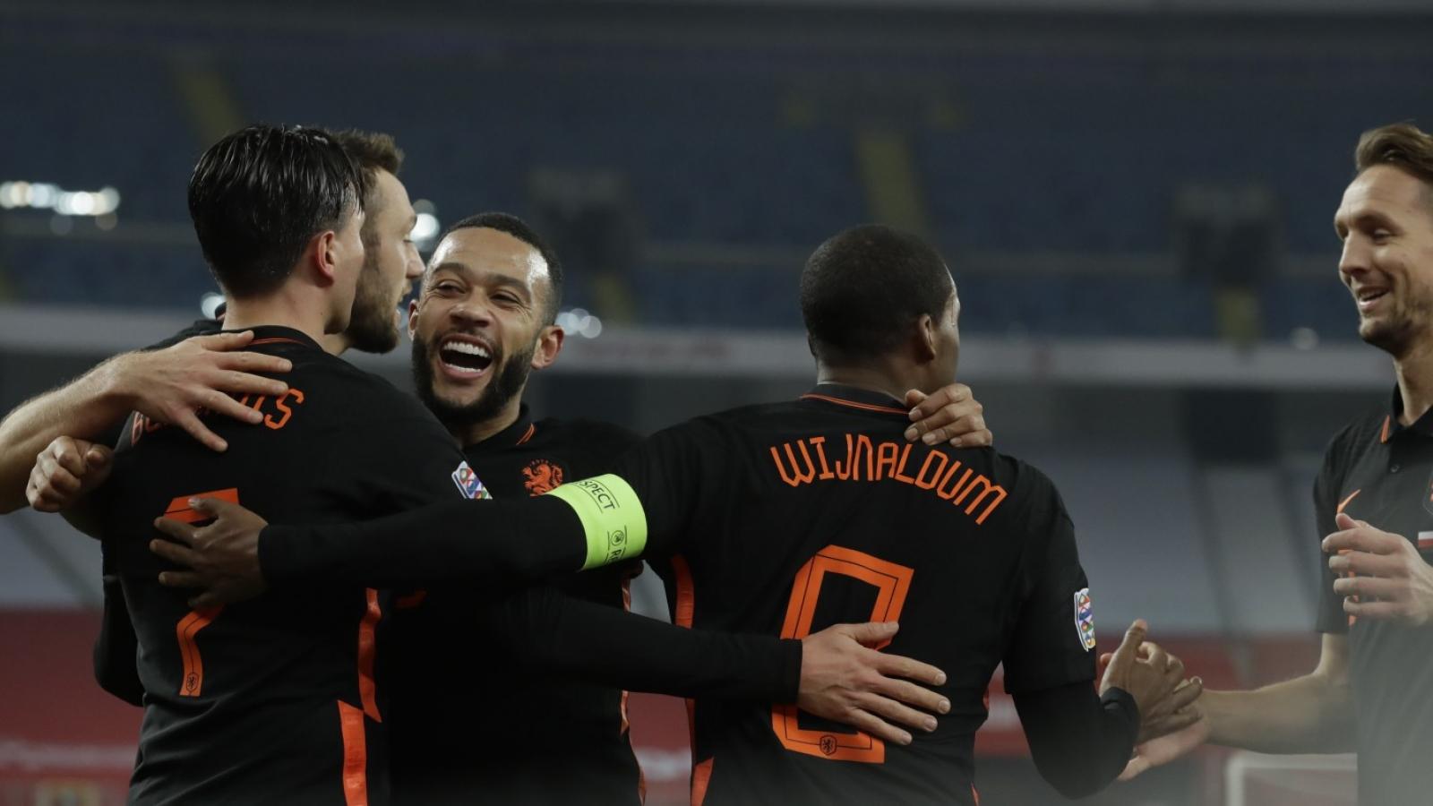 Cựu sao MU tỏa sáng, Hà Lan vẫn lỡ vé vào bán kết Nations League