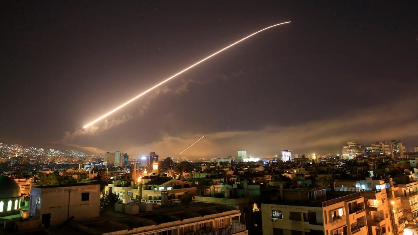 Máy bay chiến đấu Israel tấn công mục tiêu quân sự tại Syria