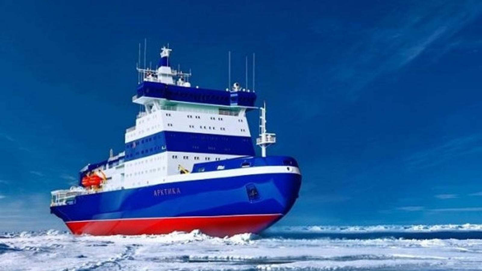 """Nga muốn giành lại """"ưu thế"""" tại Bắc Cực, tuyên bố đưa tàu phá băng trở lại"""