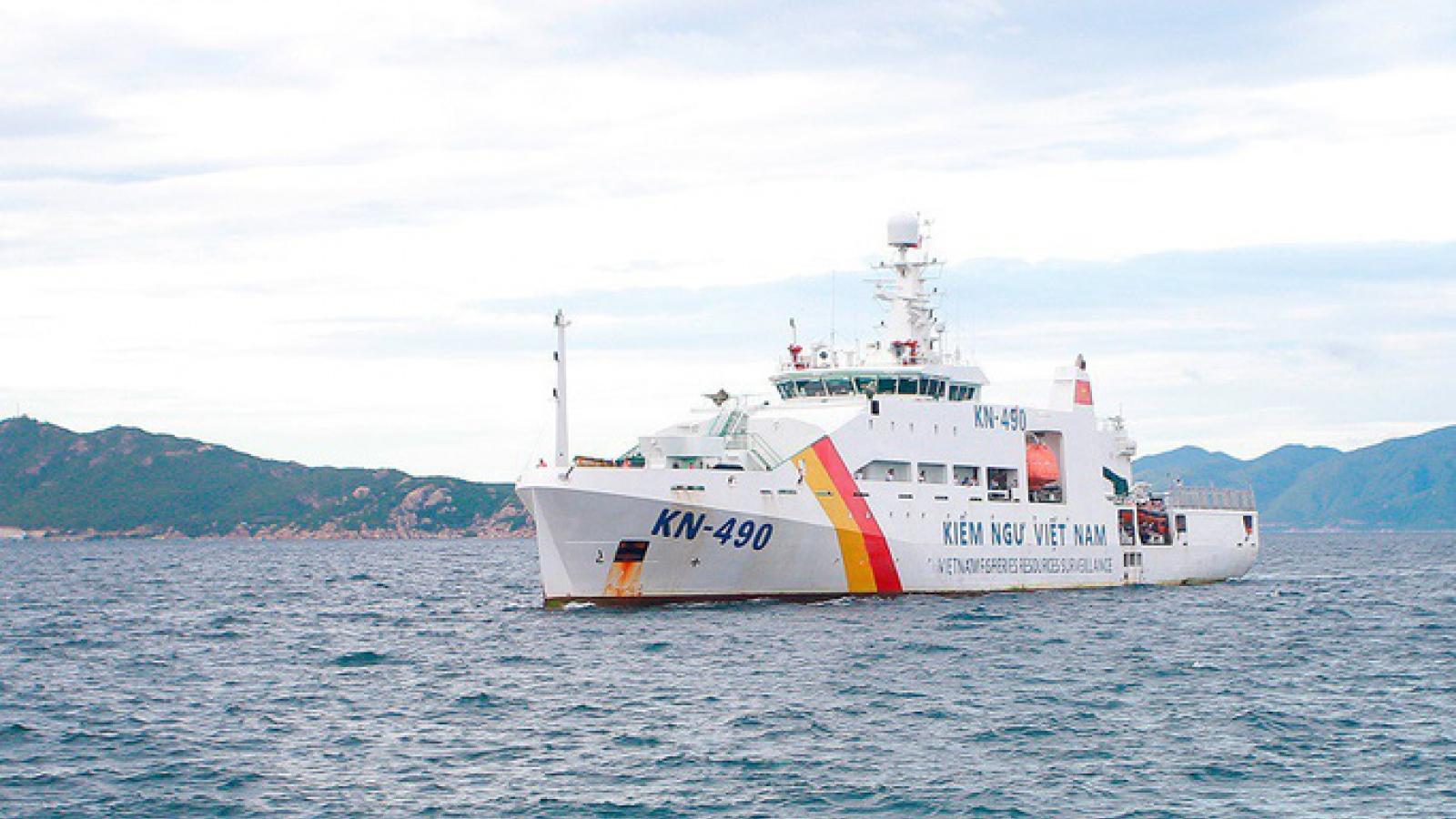 Tạm dừng tìm kiếm ngư dân mất tích do thời tiết trên biển diễn biến xấu