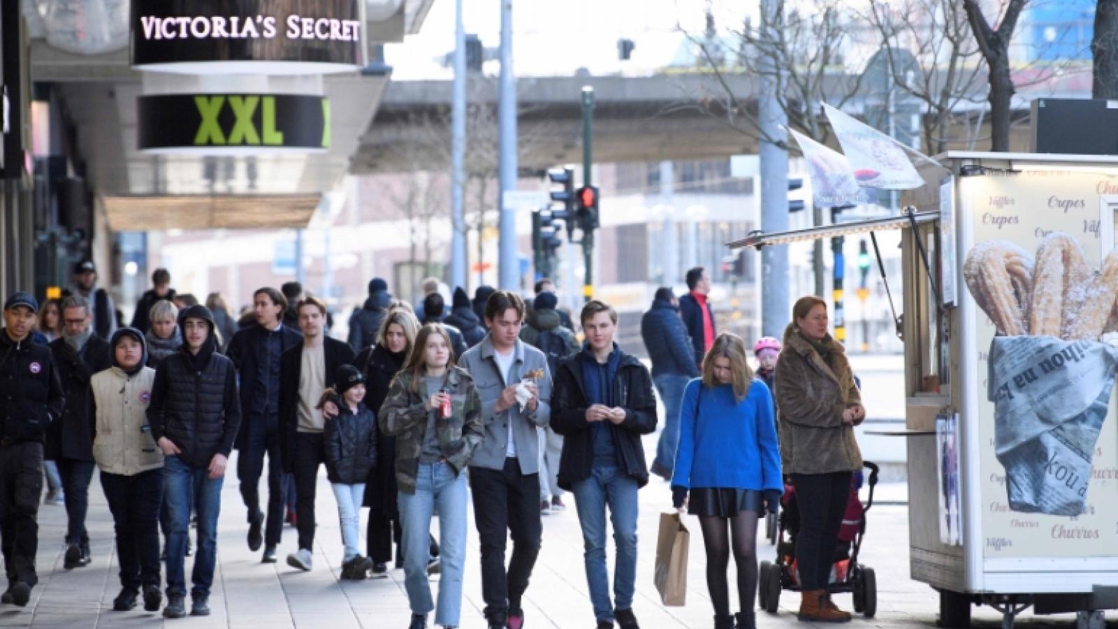 Thụy Điển thừa nhận dự báo sai về làn sóng Covid-19 thứ hai