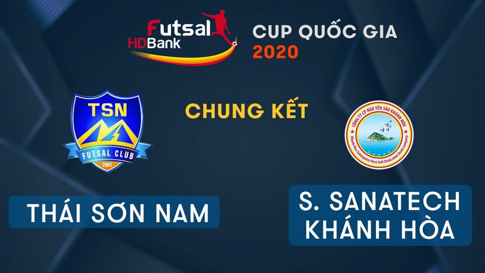 TRỰC TIẾP Thái Sơn Nam vs Sanvinest Sanatech Khánh Hòa
