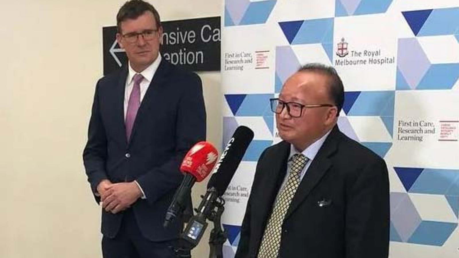 Australia buộc tội gián điệp đối với một đối tượng liên quan đến Trung Quốc