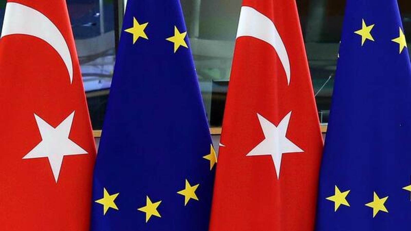Thổ Nhĩ Kỳ kêu gọi EU đối thoại giảm căng thẳng tại Địa Trung Hải