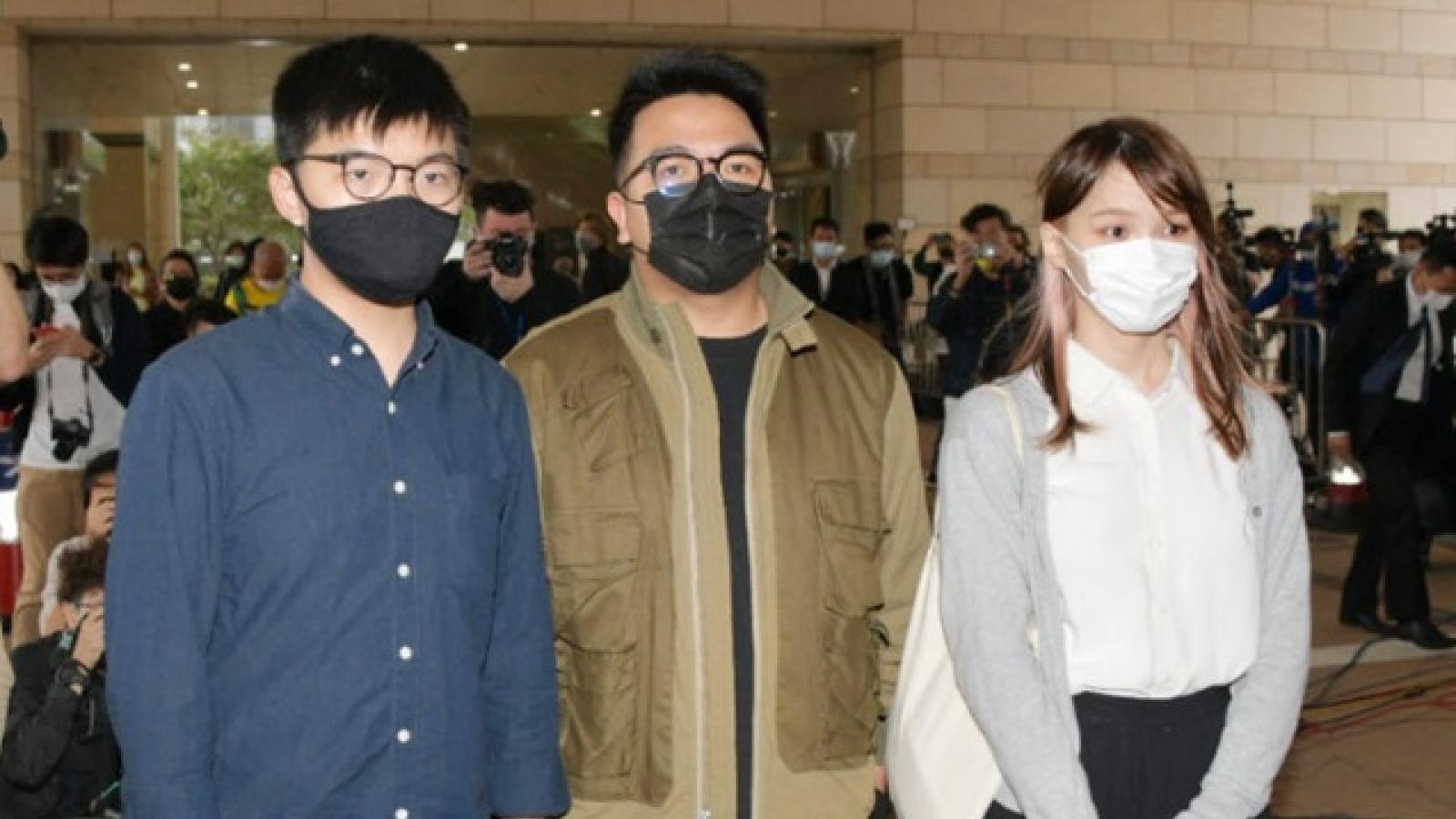 """Thủ lĩnh phong trào """"ô dù"""" Hong Kong nhận tội trước tòa án Trung Quốc"""