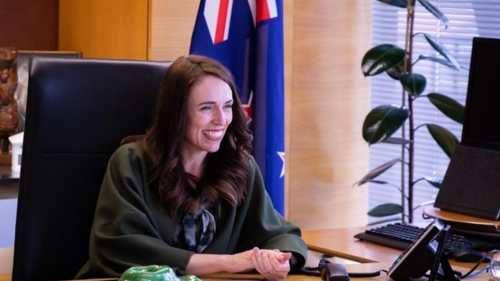 Thủ tướng New Zealand điện đàm chúc mừng ứng viên tổng thống Mỹ Joe Biden