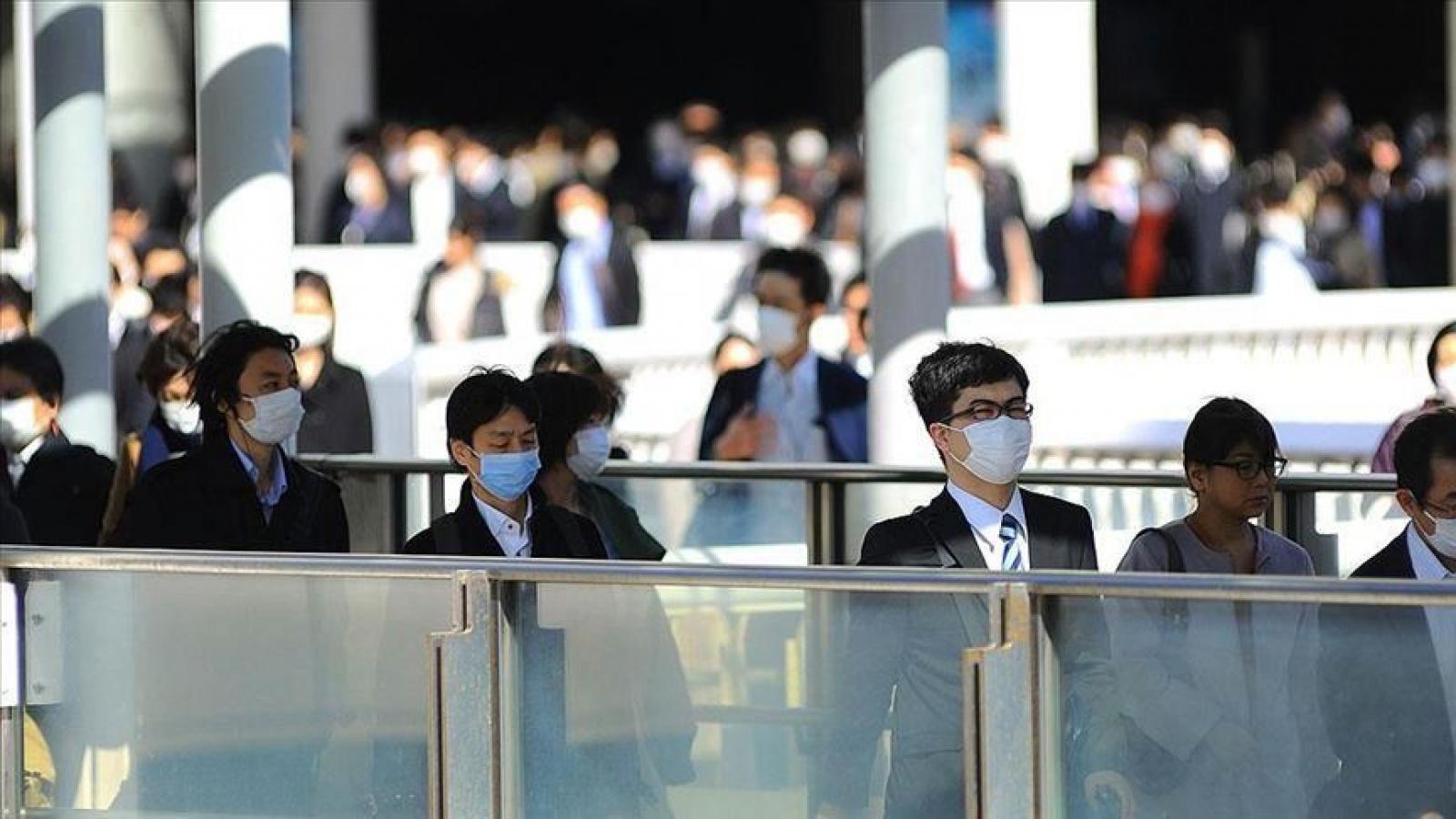 Số ca mắc Covid-19 tăng kỷ lục, Nhật Bản tăng cường các biện pháp kiểm soát