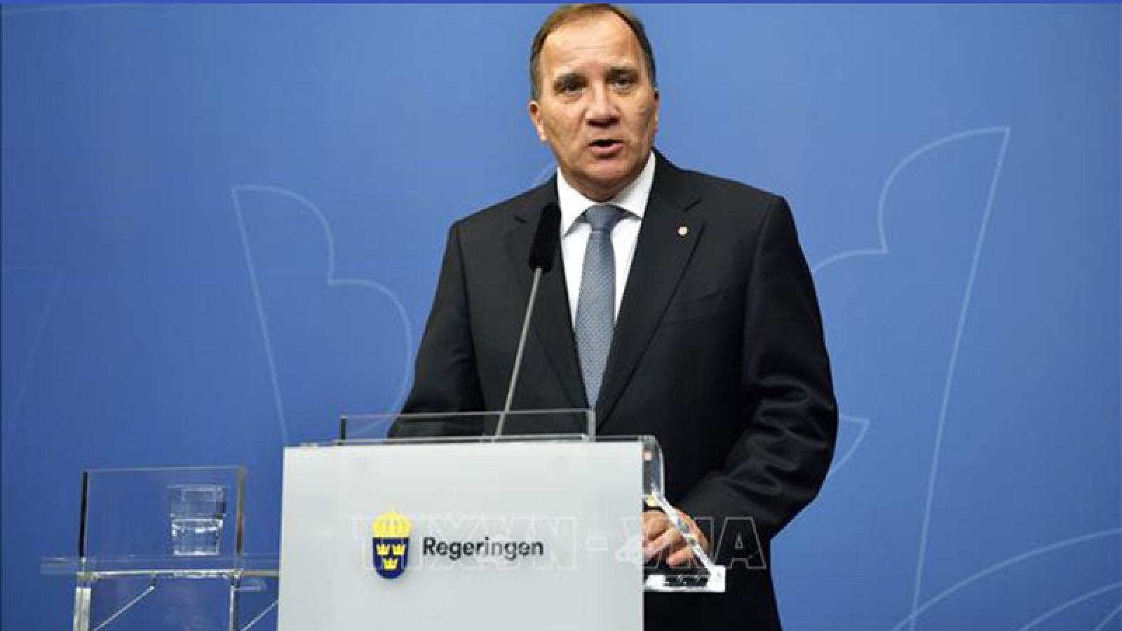 Thủ tướng Thụy Điển tự cách ly vì người thân tiếp xúc bệnh nhân Covid-19