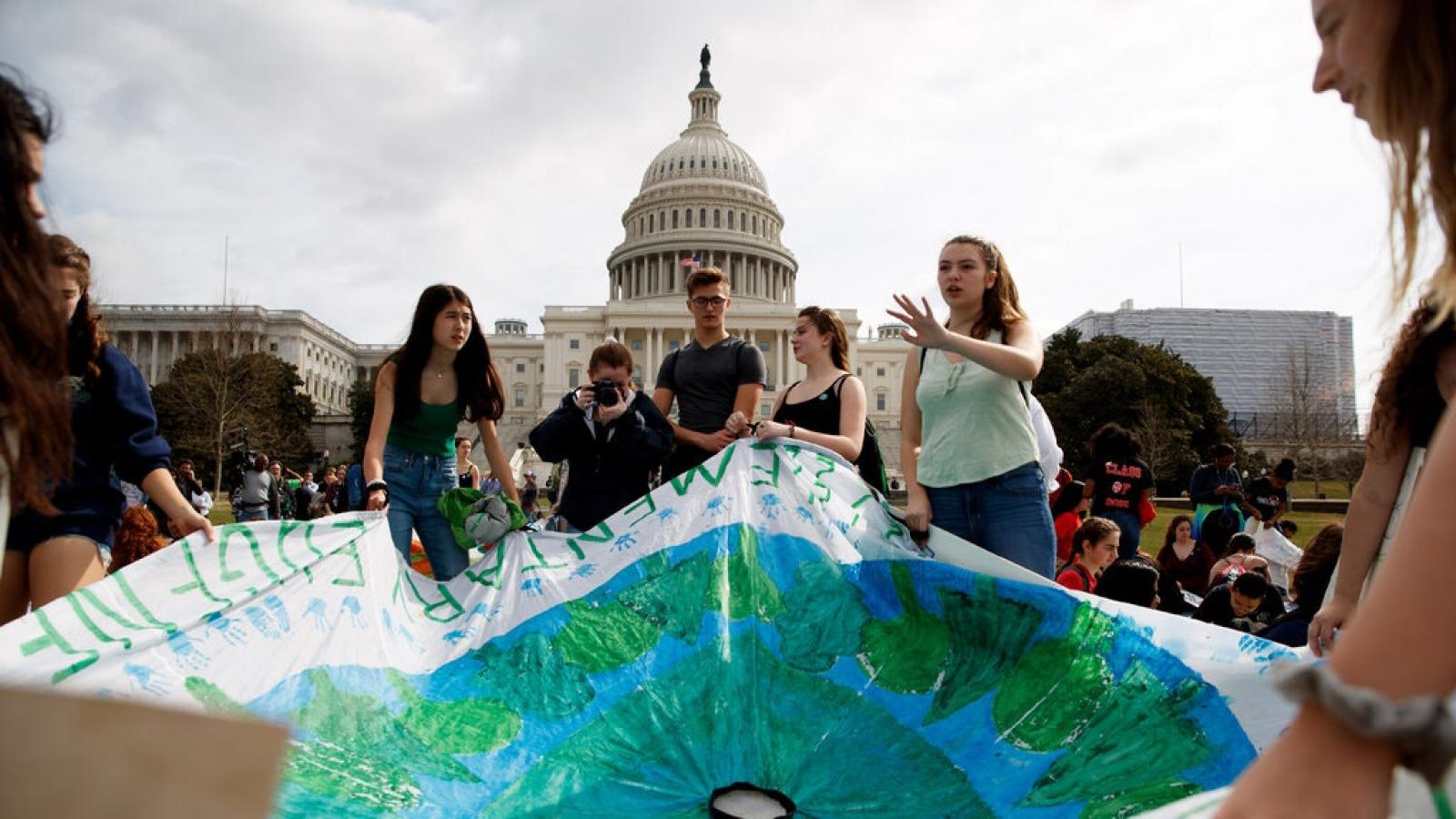 Mỹ chính thức rút khỏi Hiệp định biến đổi khí hậu Paris