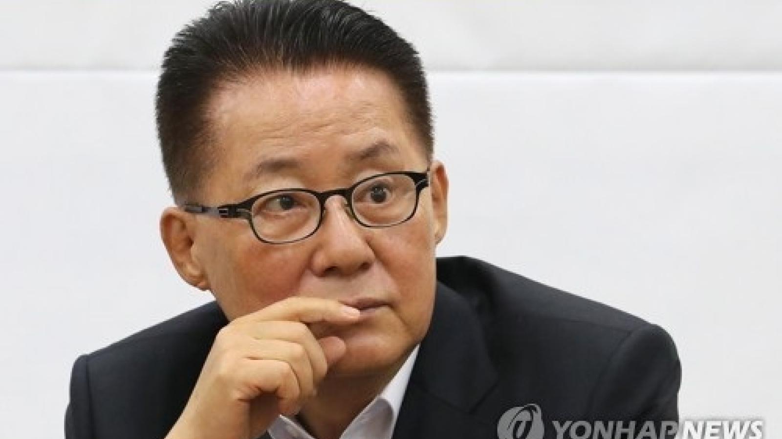 Giám đốc Cơ quan tình báo Hàn Quốc thăm Nhật Bản