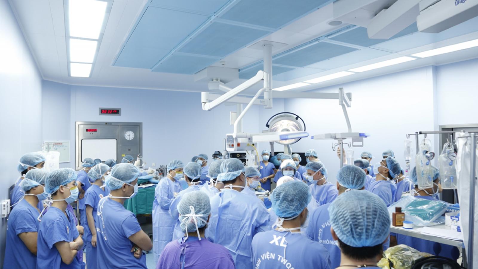 Ghép đa mô tạng từ người cho chết não cứu sống 6 người