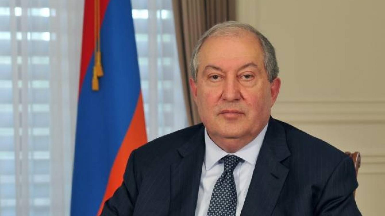 Tổng thống Armenia Sarkissian thực hiện chuyến thăm cá nhân tới Nga