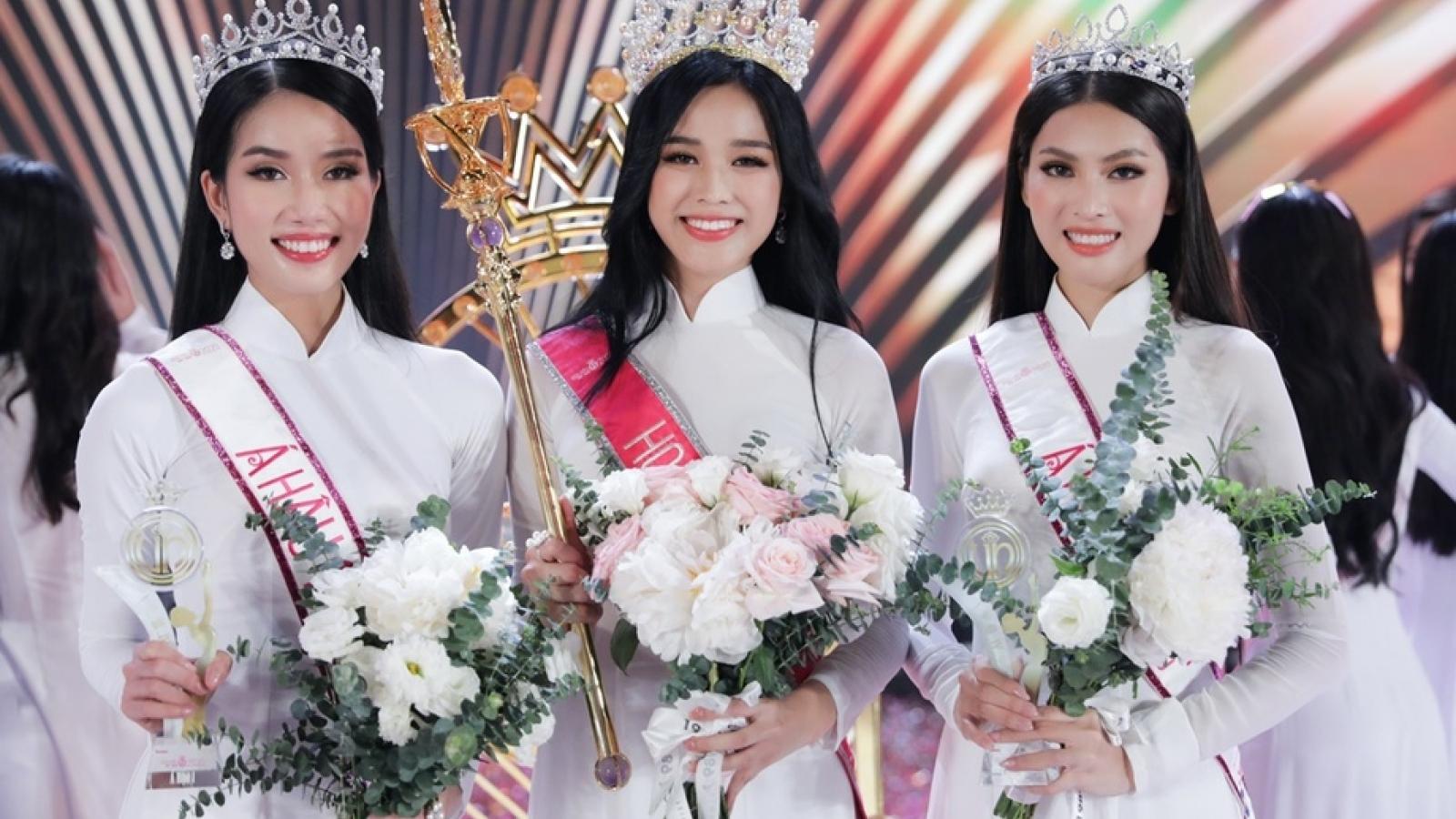 Học vấn vượt trội của top 3 Hoa hậu Việt Nam 2020