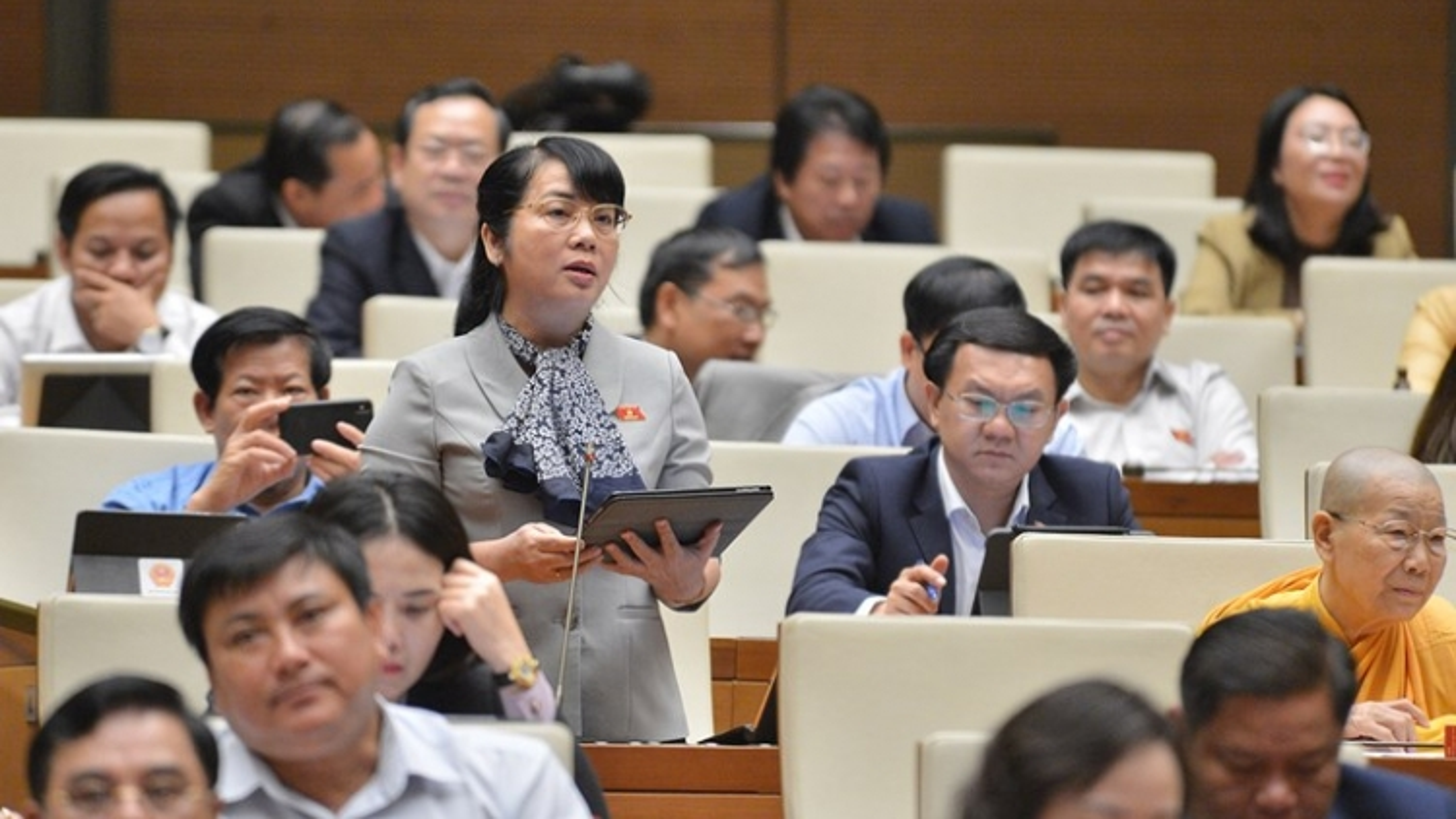 Quốc hội họp phiên bế mạc Kỳ họp thứ 10