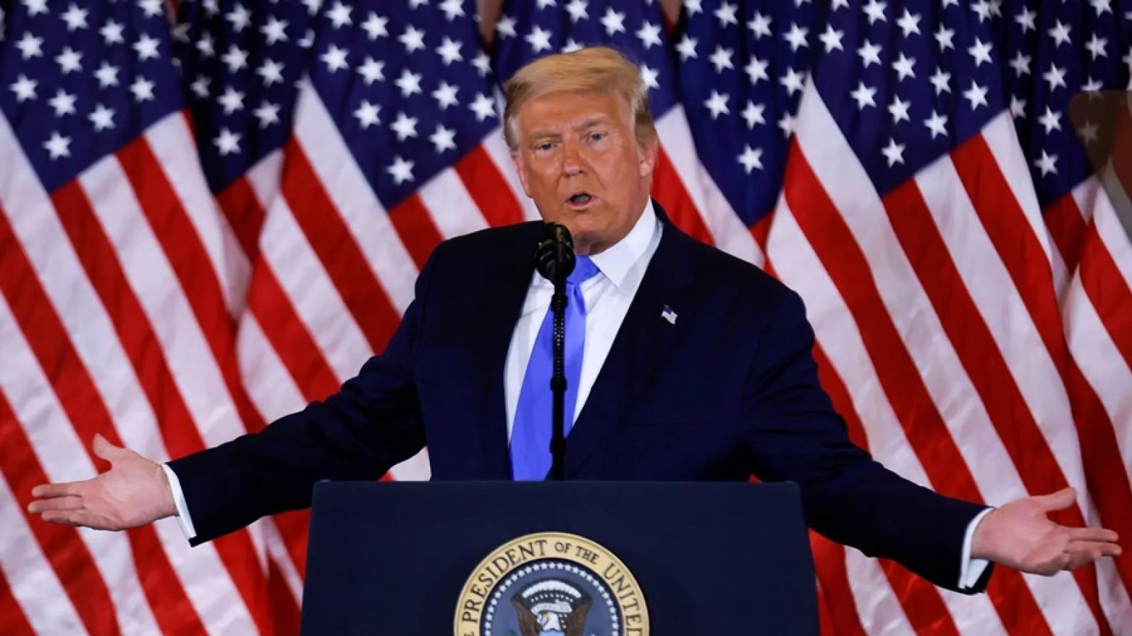 Giới lãnh đạo EU phản ứng thận trọng sau tuyên bố chiến thắng bầu cử Mỹ của ông Trump