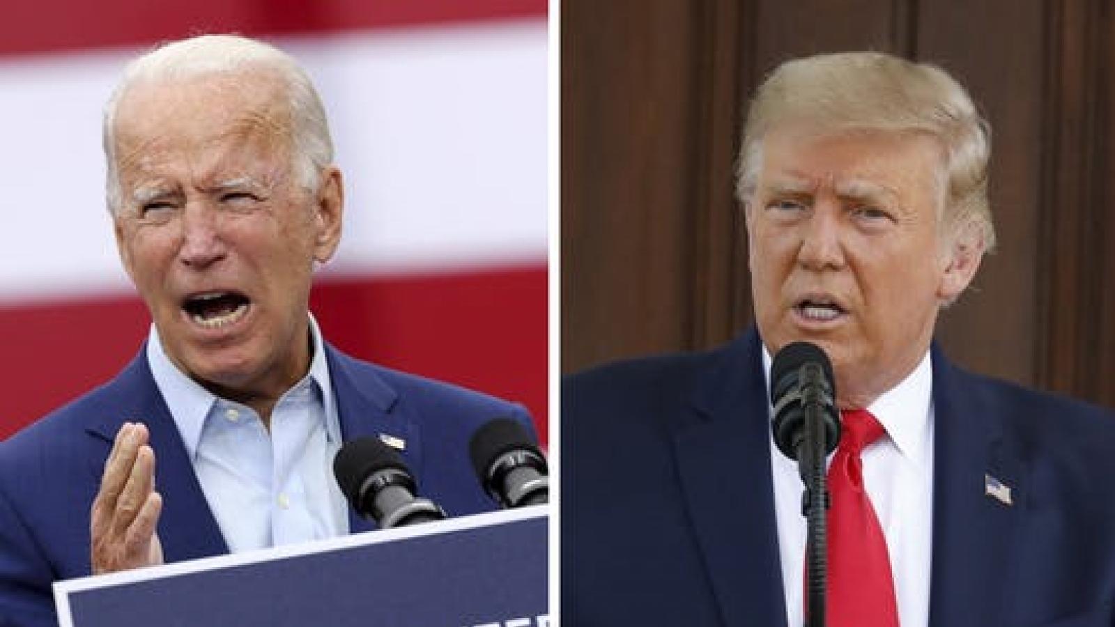 Kiểm phiếu lại khó giúp ông Trump vượt lên đối thủ Joe Biden