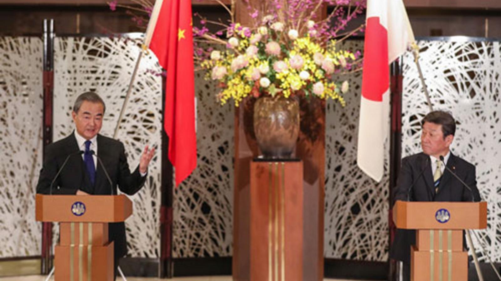 Trung Quốc và Nhật Bản đạt được nhiều nhận thức chung quan trọng
