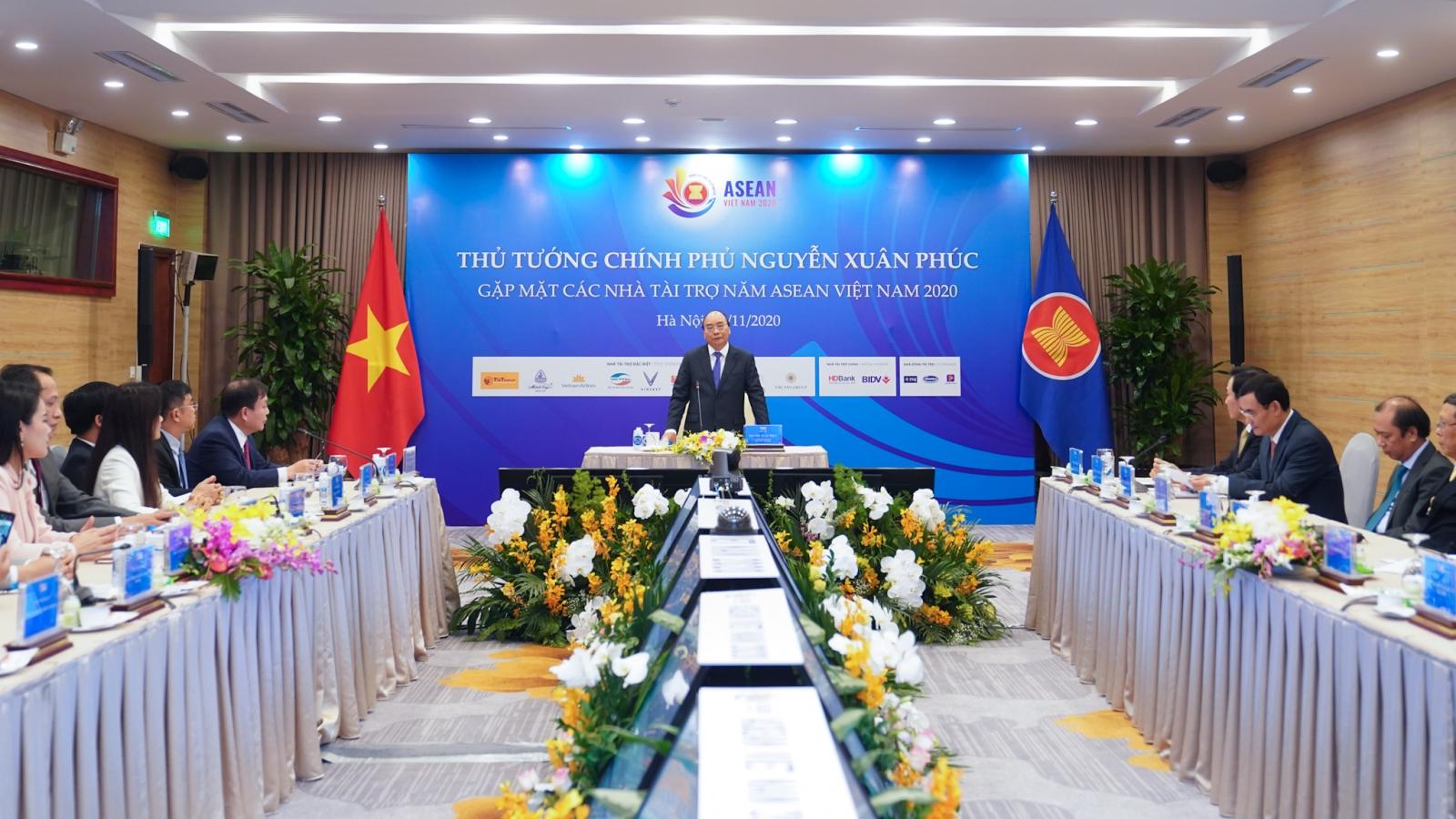 Thủ tướng đánh giá cao các nhà tài trợ Hội nghị Cấp cao ASEAN 37