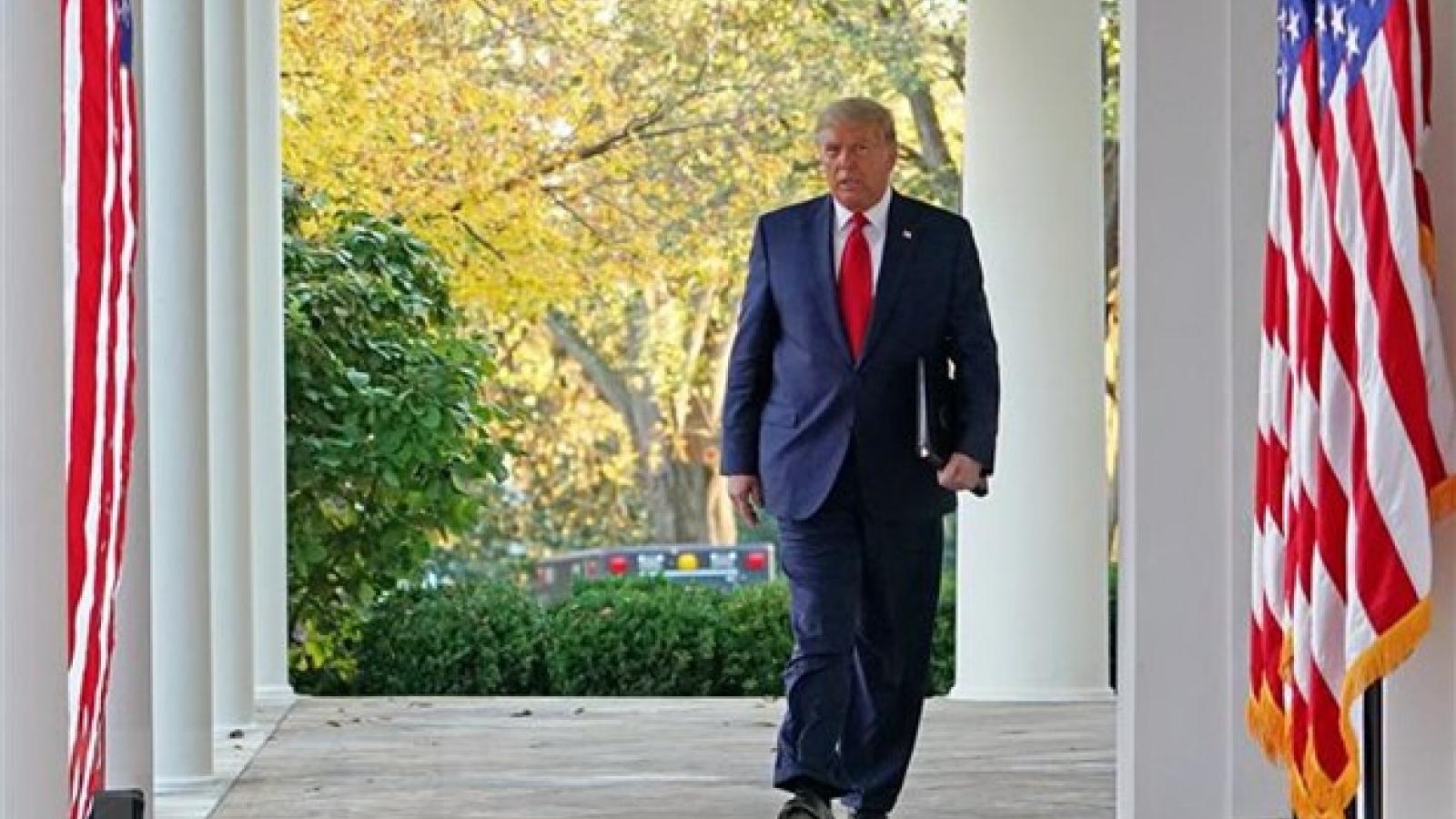 Một loạt thẩm phán bác đơn kiện, ông Trump thất bại liên tiếp trong cuộc chiến pháp lý