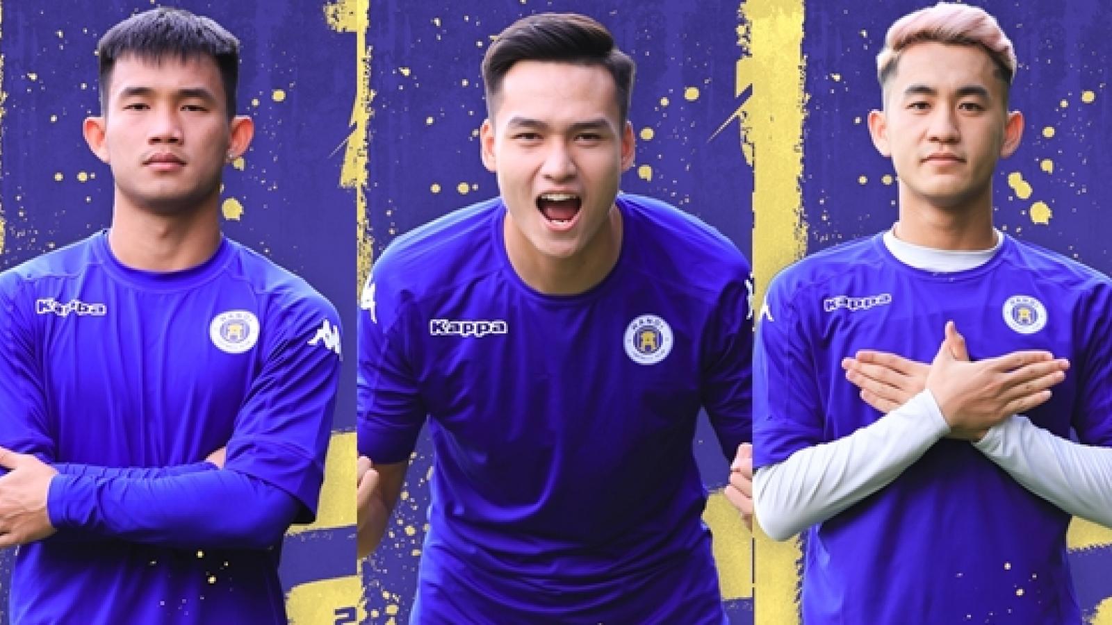"""Đội hình """"U22 Việt Nam thu nhỏ"""" của Hà Nội FC tại VCK U21 Quốc gia"""