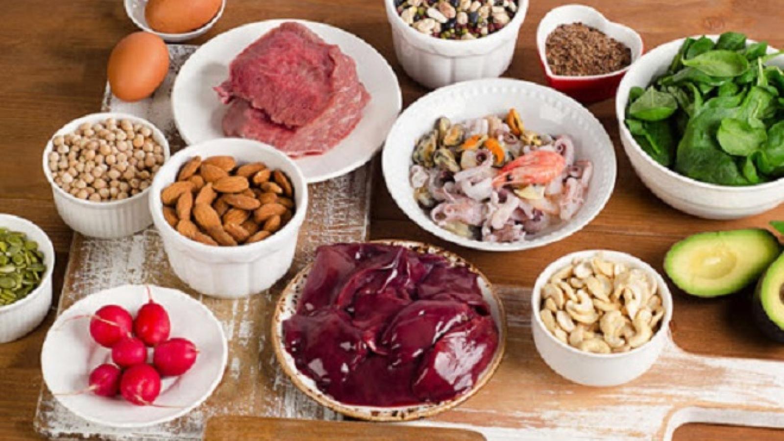 """Điểm danh 10 loại """"thực phẩm vàng"""" bổ sung sắt cực tốt cho cơ thể"""