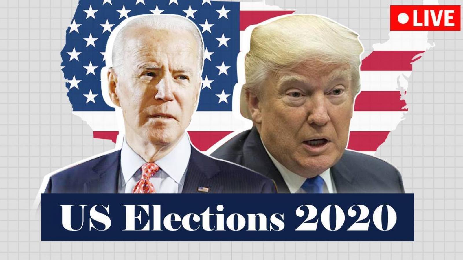 Cập nhật bầu cử Mỹ 2020: Tình hình ở bang Michigan có lợi cho ông Biden