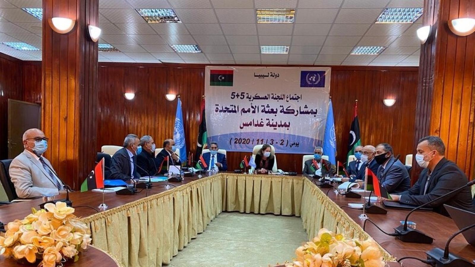 Các phe phái đối đầu tại Libya đàm phán hòa bình ở Marocco