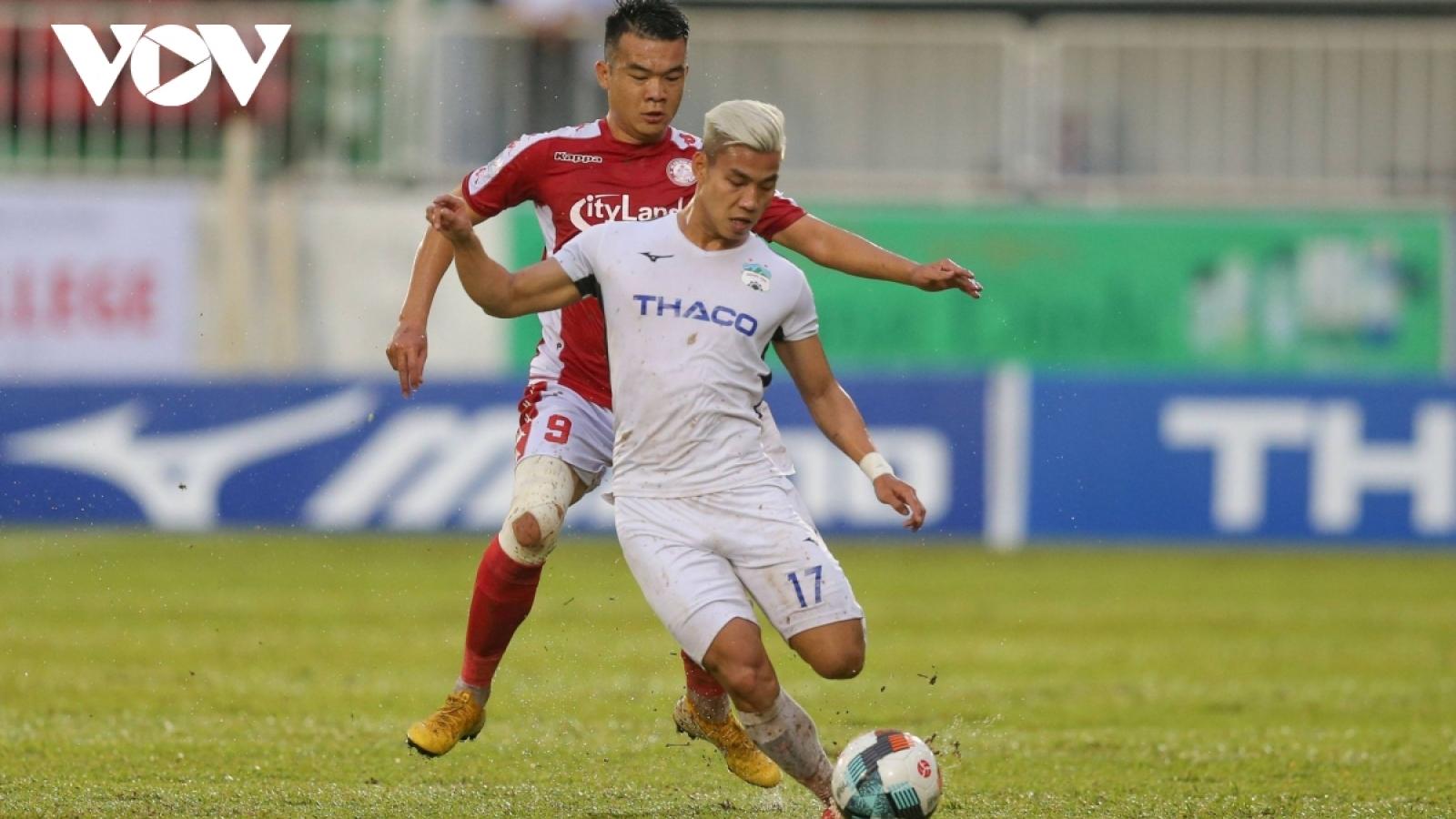 HAGL mất Vũ Văn Thanh trong trận đấu cuối cùng ở V-League 2020