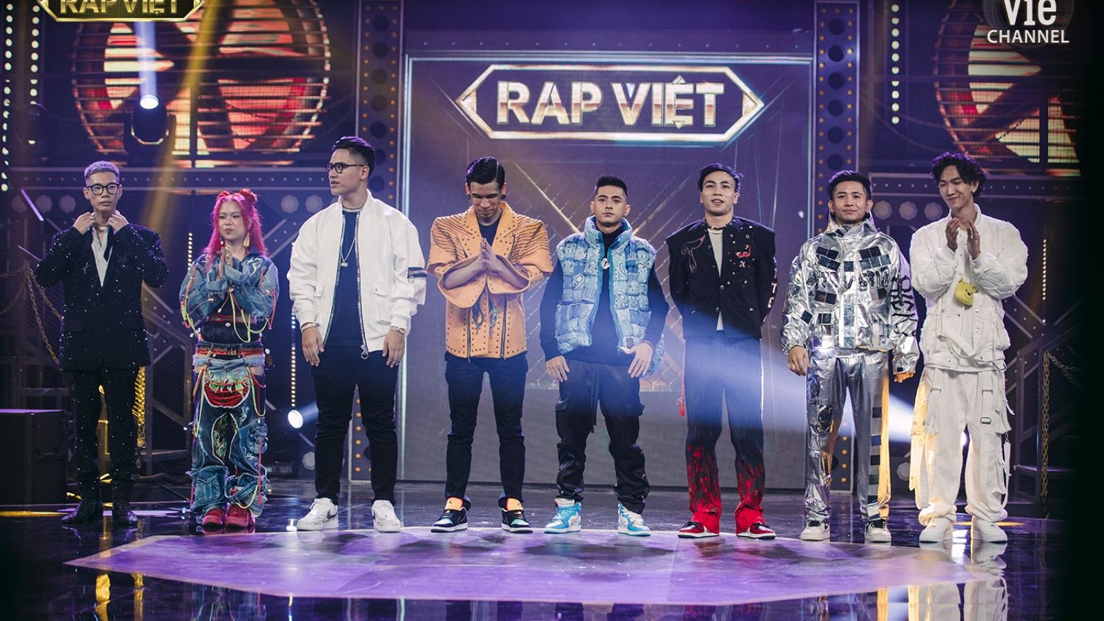 Rap Việt rực lửa chung kết: Binz, Karik, Suboi, Wowy cùng học trò tung chiêu bài cuối cùng