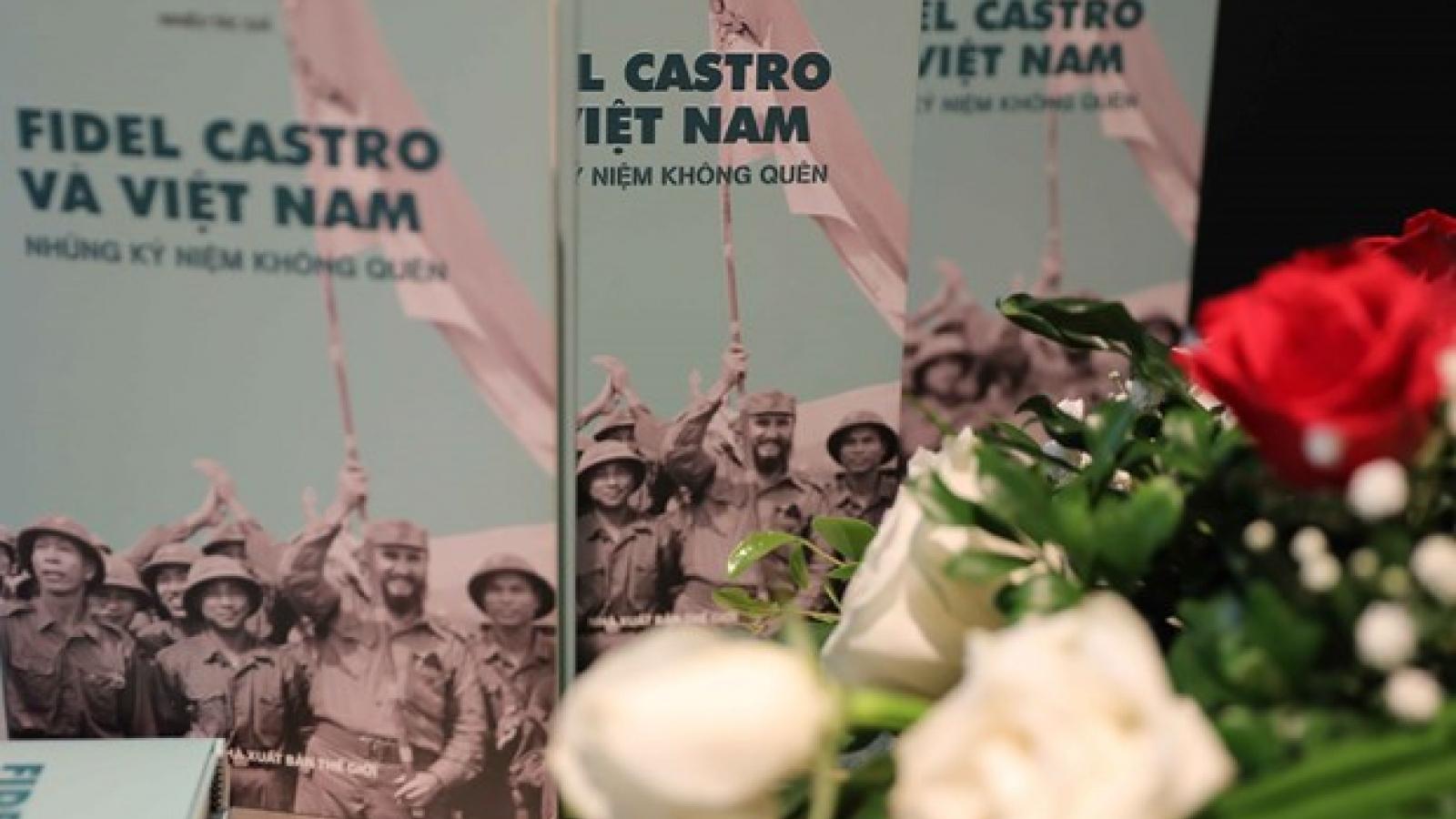 Book on Fidel Castro and Vietnam debuts