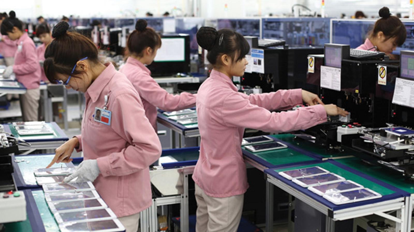 Hàn Quốc dẫn đầu về tổng vốn đăng ký đầu tư và tổng số dự án đầu tư tại Việt Nam