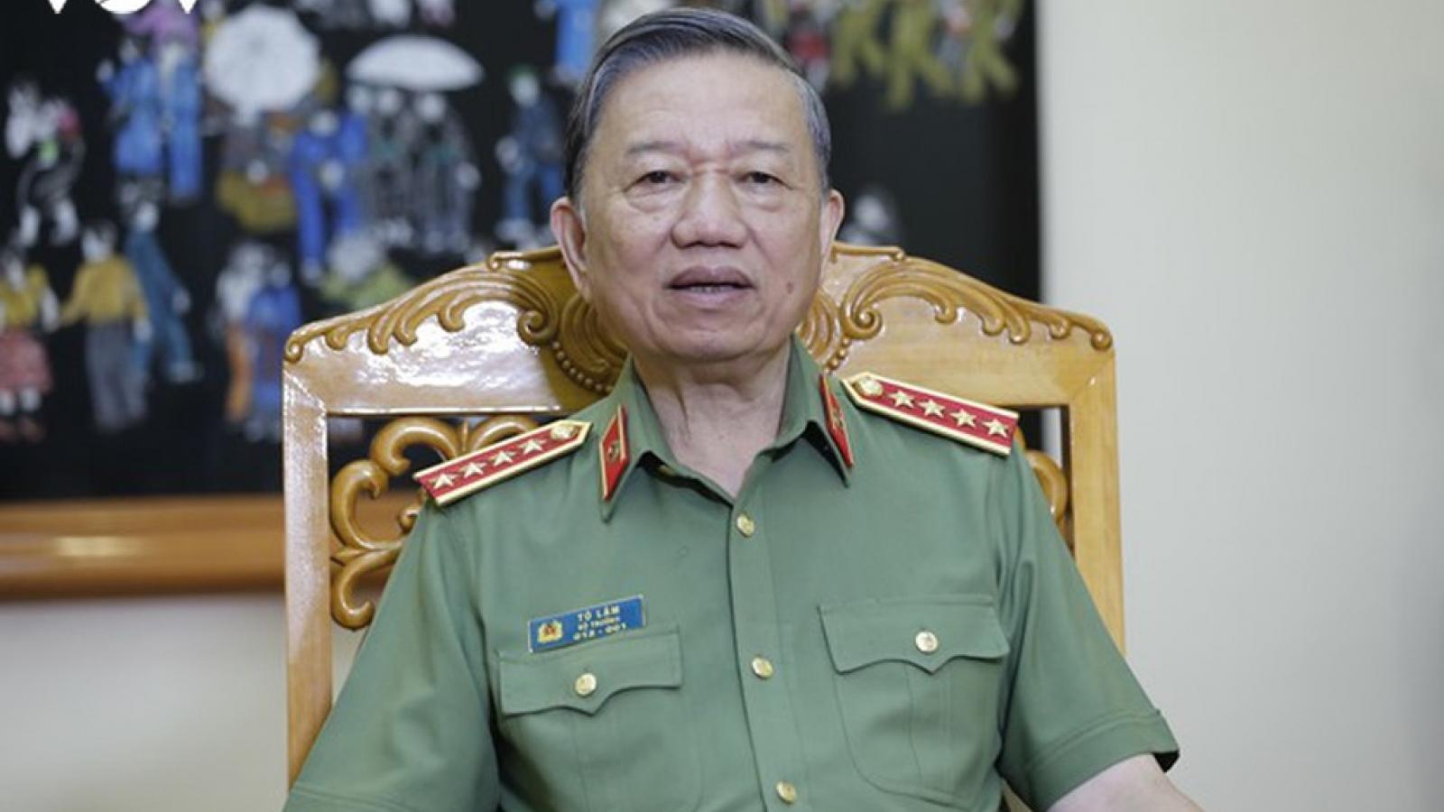 Bộ trưởng Tô Lâm: Sẽ hoàn thiện pháp luật để xử lý thông tin xấu, độc trên mạng