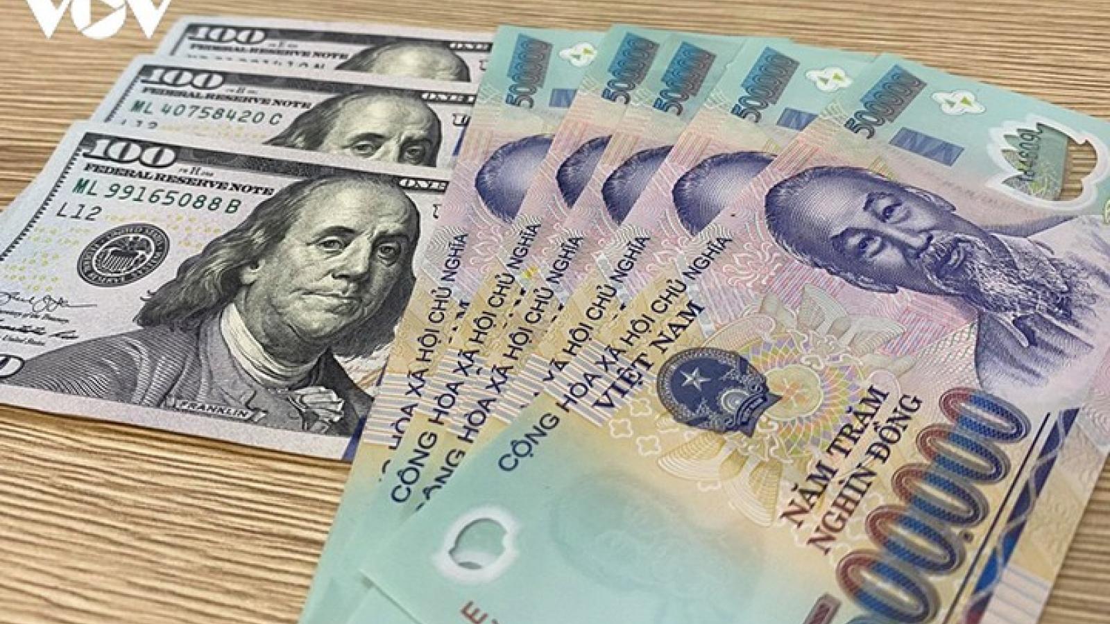 Giá USD giữ ổn định trên 23.000 đồng tại các ngân hàng thương mại