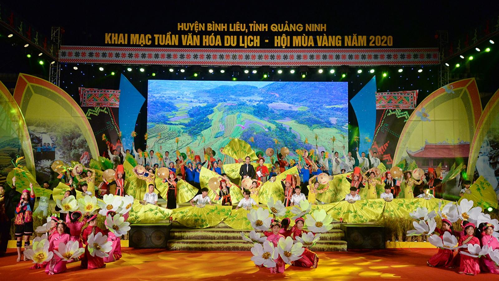 Hội mùa vàng Bình Liêu - Sản phẩm du lịch mới của Quảng Ninh