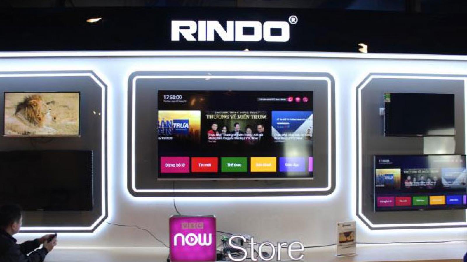 Ra mắt VTC Now Rindo - TV thông minh đầu tiên tại Việt Nam
