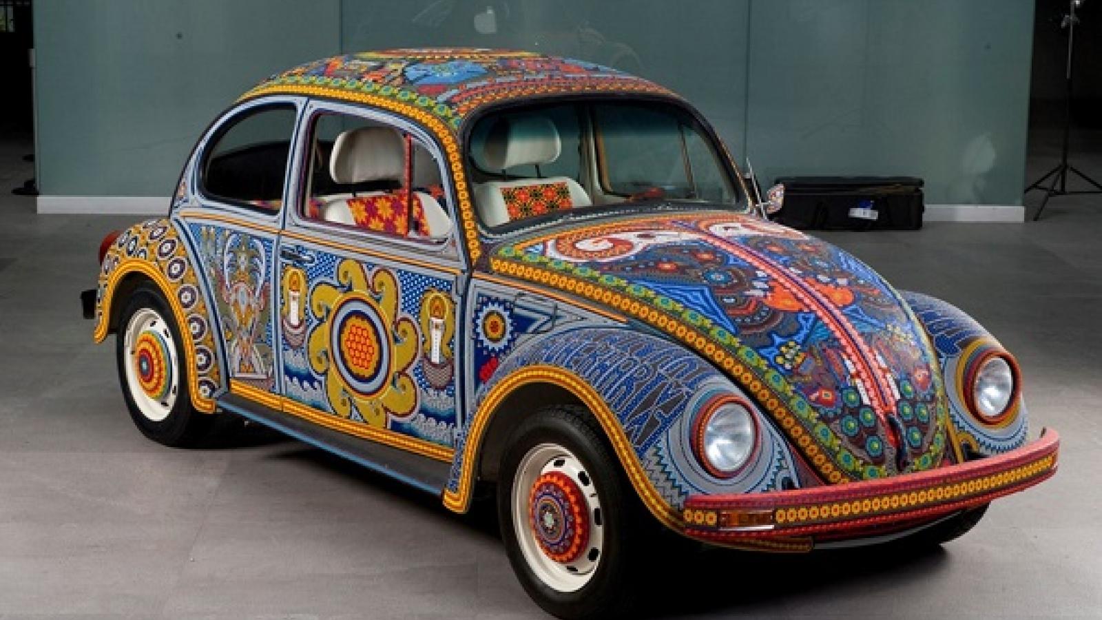 """Ảnh chi tiết Volkswagen Beetle Vochol """"có một không hai"""""""