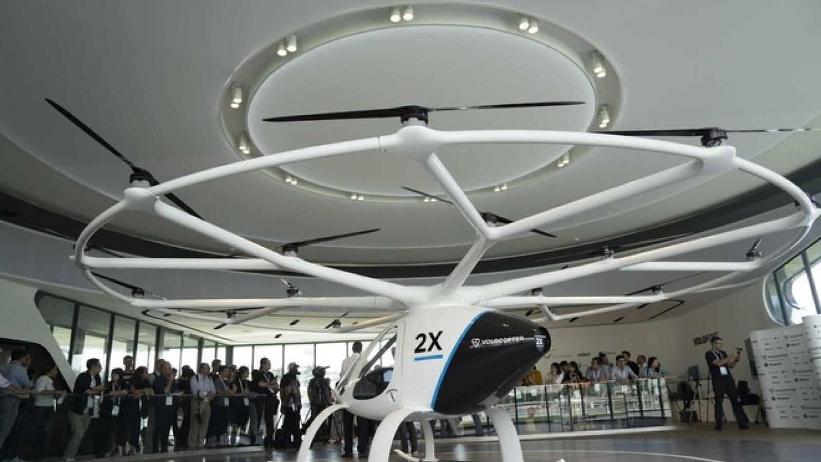 Singapore triển khai dịch vụ taxi bay vào năm 2023
