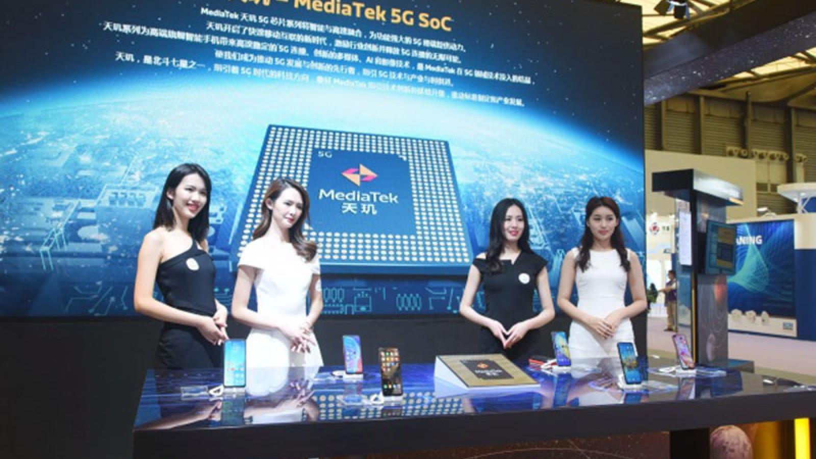 MediaTek trở thành nhà sản xuất chip smartphone lớn nhất thế giới