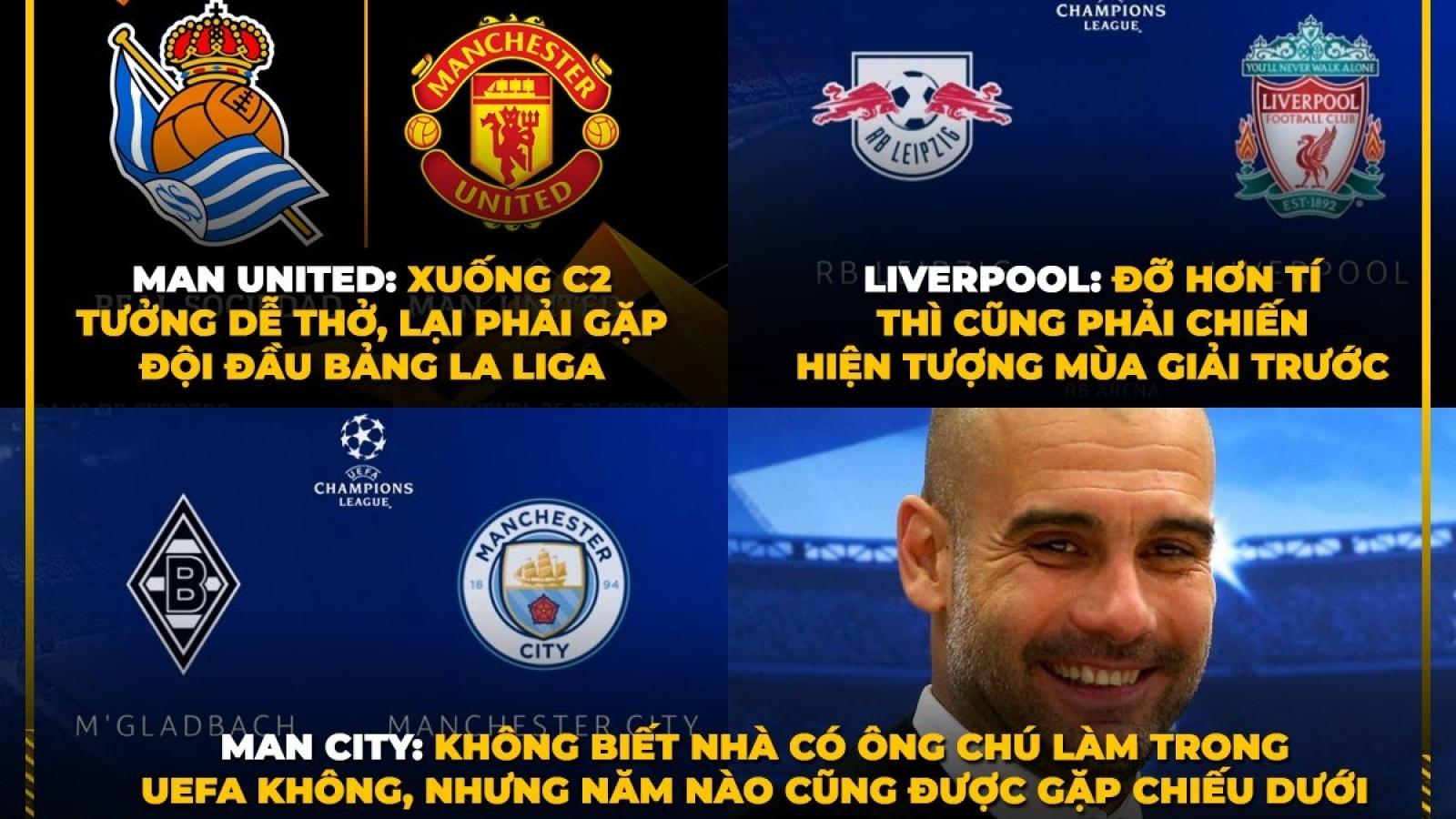 "Biếm họa 24h: Man City lại ""ung dung"" ở Champions League"