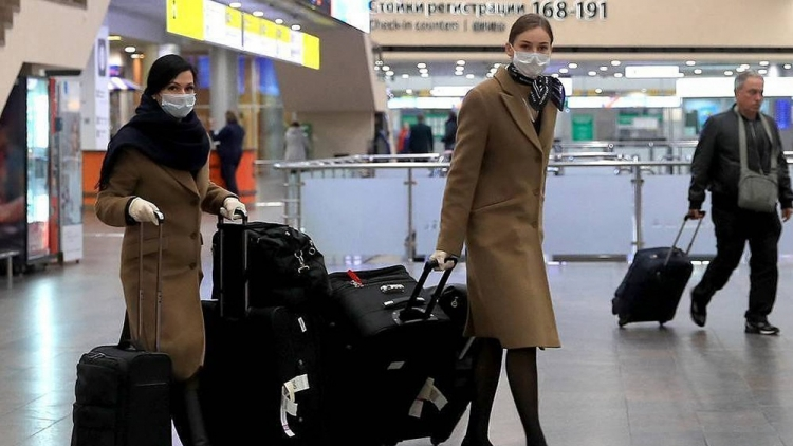 Nga dừng các chuyến bay đến Anh do lo ngại biến thể mới của virus SARS-CoV-2