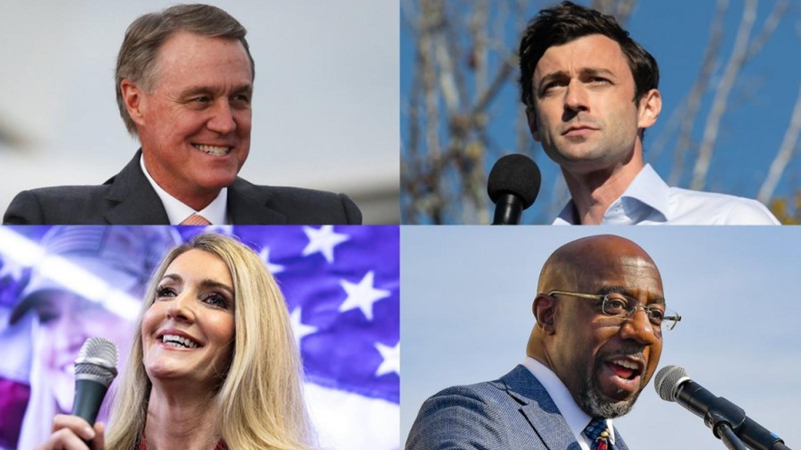 Đảng Cộng hòa dẫn trước trong cuộc đua khốc liệt kiểm soát Thượng viện Mỹ