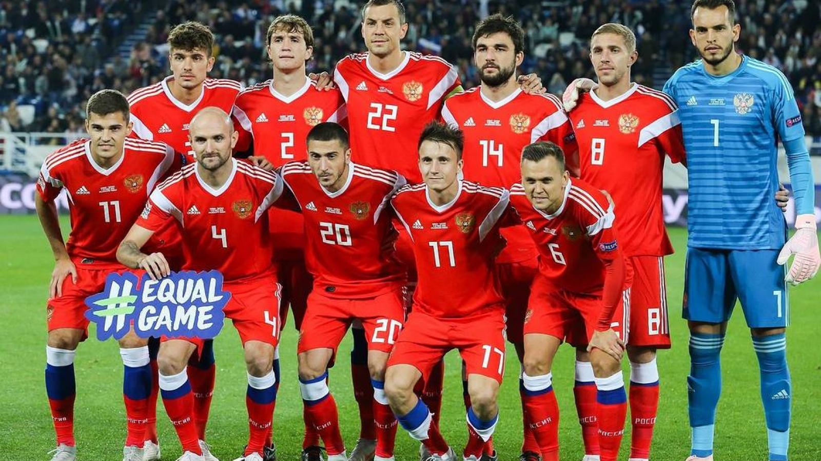 ĐT Nga chính thức bị cấm dự World Cup 2022