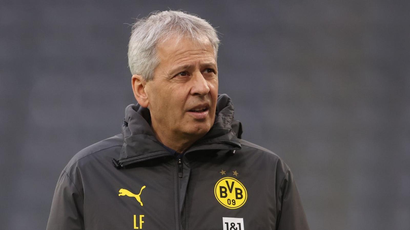 Thua 4 trận sau 11 vòng ở Bundesliga, Dortmund sa thải HLV Favre