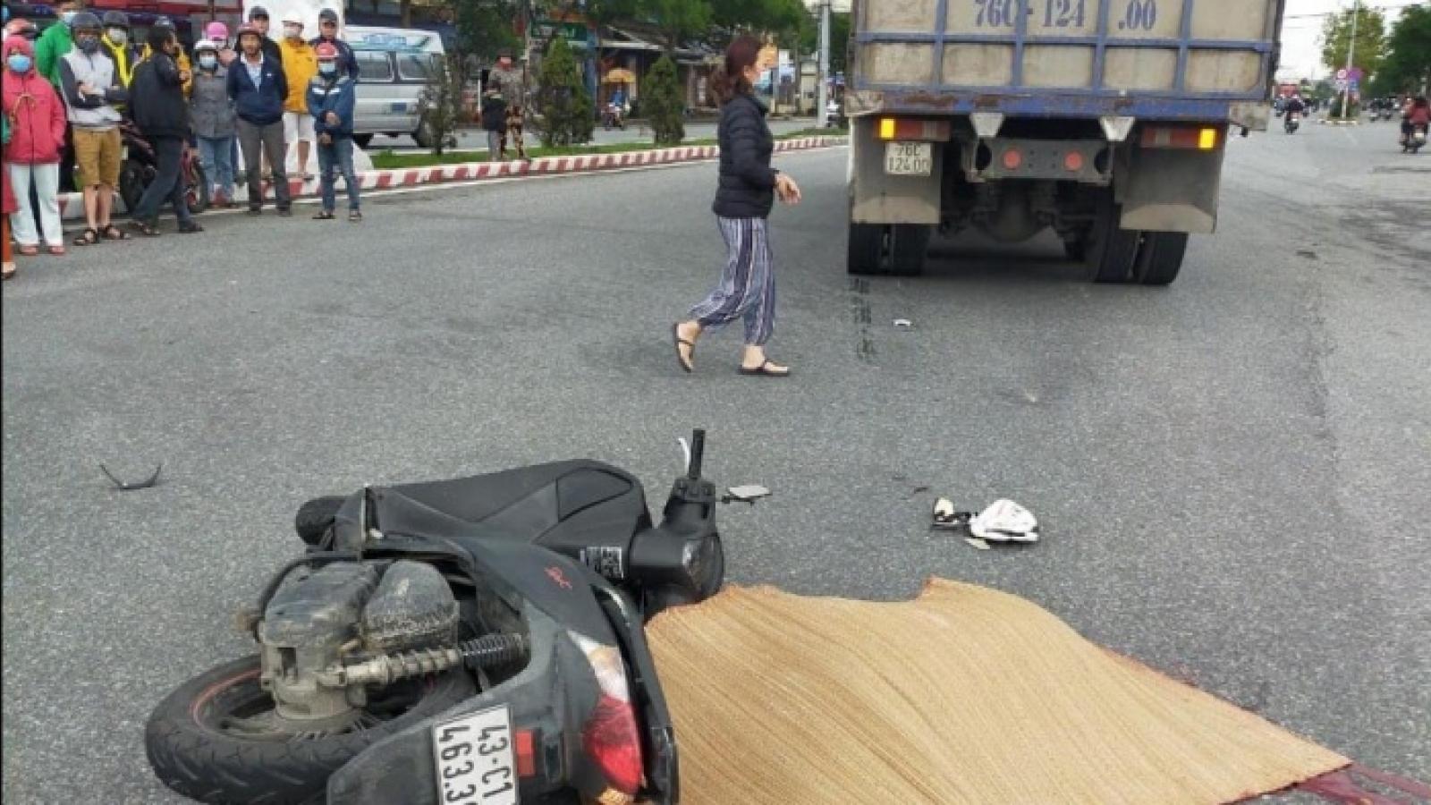 Lại xảy ra tai nạn chết người trên đường Ngô Quyền ở Đà Nẵng