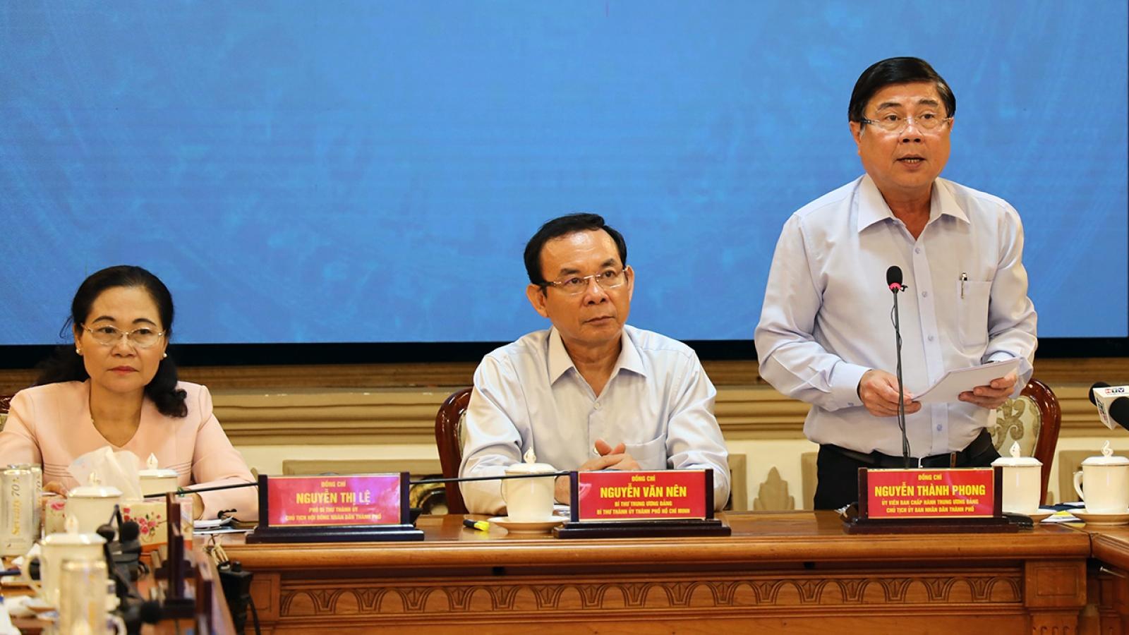 TPHCMkiến nghị Chính phủ sớm ban hành hướng dẫn thực hiện chính quyền đô thị